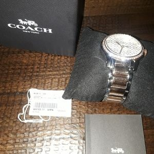 Authentic Coach watch with all verified paperwork